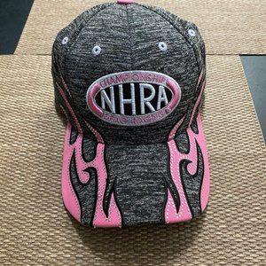 NHRA Ladies Rhinestone Flame Hat